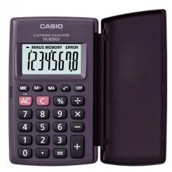 Калькулятор CASIO карманный HL-820LV-BK-S-GP, 8 разр. черный