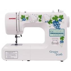 Швейная машина Janome Grape 2016 (электромеханическое управ.,реверс,16 операций,свет)