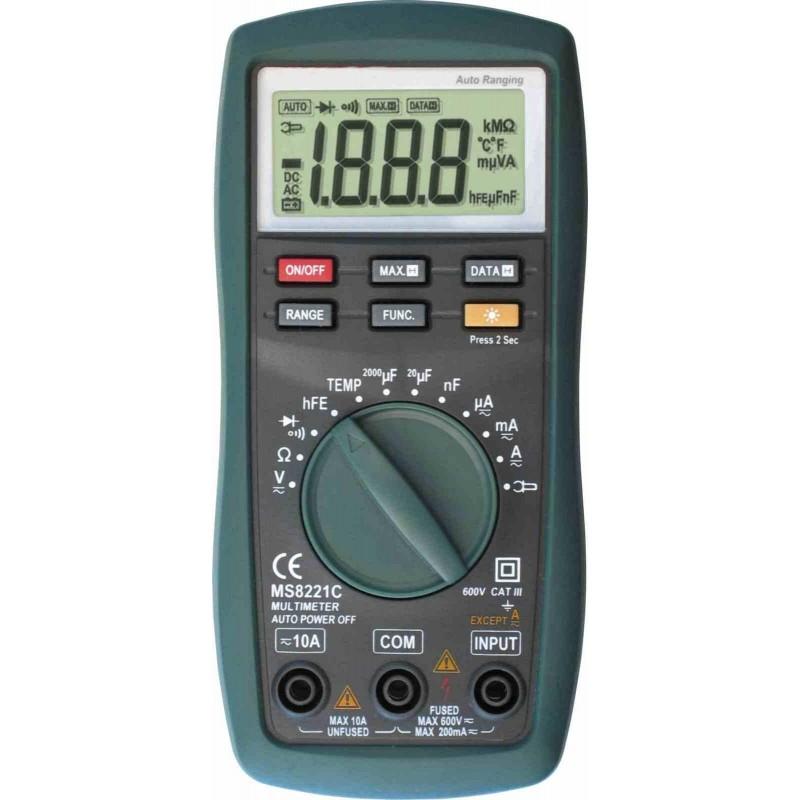 Мультиметр Mastech MS-8221C