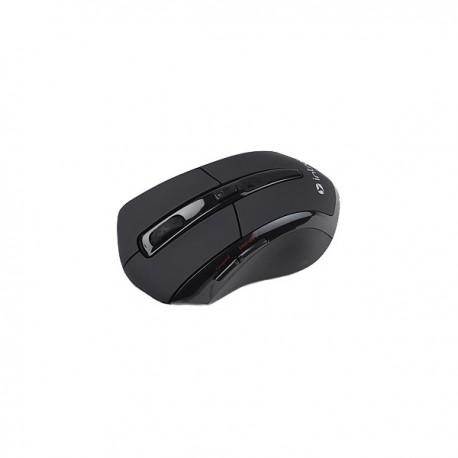 Мышь беспроводная Intro MW207 оптическая, 1600dpi, радиус действия 10м, Black