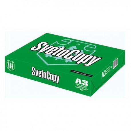 Бумага A3 Svetocopy (уп./500л, г.Светогорск 80/500/94%ISO)