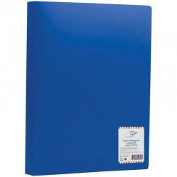 Папка с боковым прижимом Спейс 15мм, 500мкм, синяя (FC2 308)