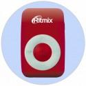 MP3 плеер RITMIX RF-1010 Красный (MP3,microSD,клипса)