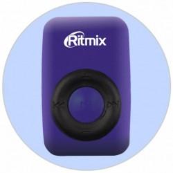 MP3 плеер RITMIX RF-1010 Синий (MP3,microSD,клипса)