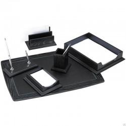 Набор настольный DELUCCI 6 предметов, черный дуб (MBn 06202)