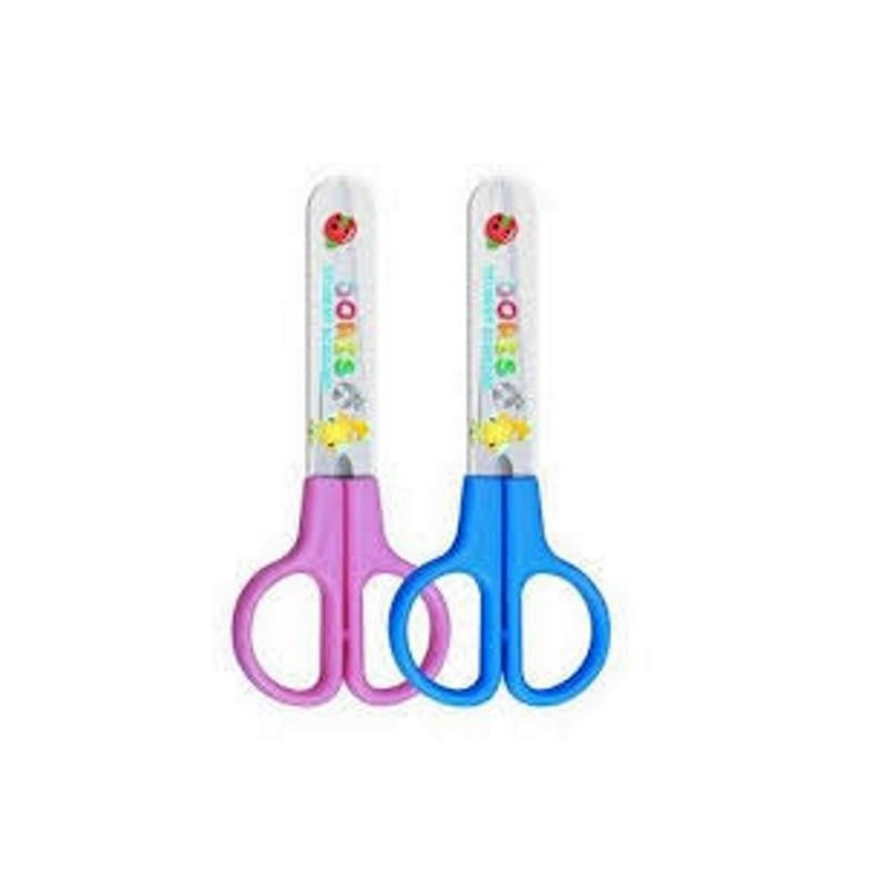 Ножницы 12см. DELI детские, в футляре (6021)