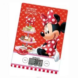Кухонные весы Scarlett SC-KSD57P99 Red электронные, стекло, макс. 5кг, точность 1г, авто вкл/выкл