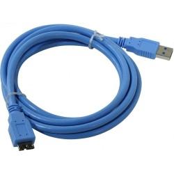 Кабель - USB-microUSB 3.0 1м Telecom (TUS717-1M)