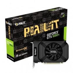 Видеокарта Palit GeForce GTX1050Ti StormX (4Gb, DDR5,128bit,DVI,HDMI,DP,ret)