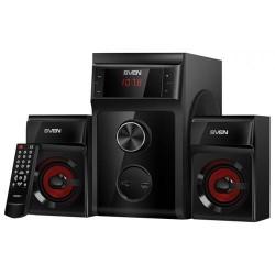 Актив.колонки 2.1 Sven MS-302 40Вт, FM, USB/SD, питание от сети, MDF, Black