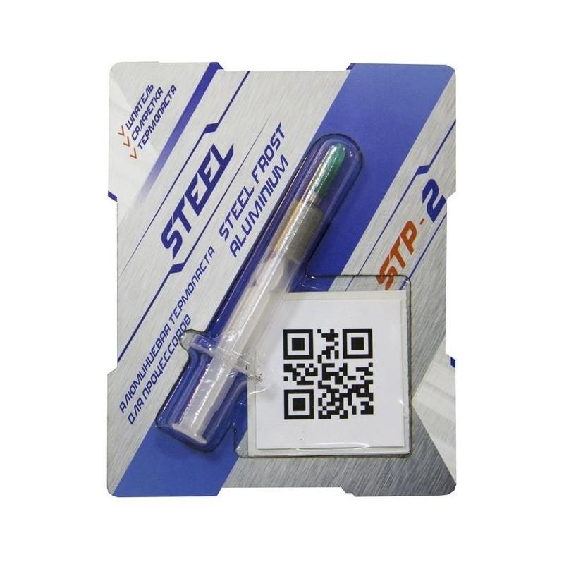 Термопаста  STEEL STP-2 шприц 3гр (8.5-8.9W/m-K)