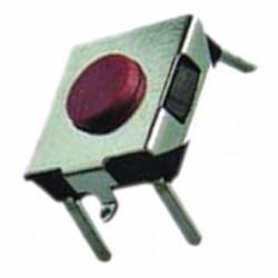 Кнопка тактовая 6.5x6.5x2.5мм 5 конт. SMD