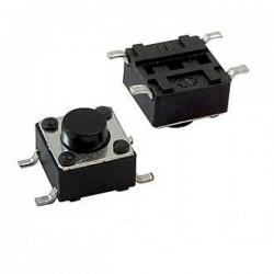 Кнопка тактовая 6x6x5мм 4 конт. SMD