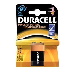 Батарейка 6LR61(крона) DURACELL 1 шт./9В. щелочная