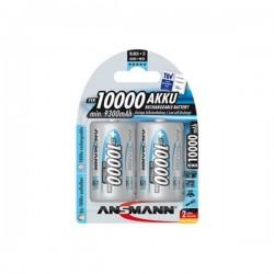 Аккумулятор Ni-MH D ANSMANN 10000mAh/1.2в