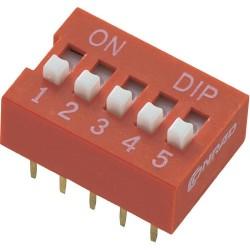 Переключатель DS-06/DIP, 2.54мм