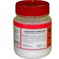 Сода каустическая (250гр)/едкий натр