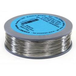 Припой CHEMET (112/TZ-40) 1мм флюс Kap-Tсеребро (100гр)/Sn96Ag4, 221°C