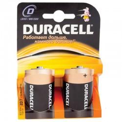 Батарейка D(LR20) DURACELL 1 шт./1,5В. щелочная