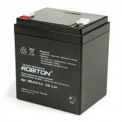 Аккумулятор свинцовый Robiton VRLA12-4.5/12в 4.5Аh