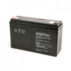 Аккумулятор свинцовый Robiton VRLA6-12/6в 12Ah
