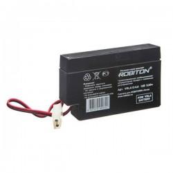 Аккумулятор свинцовый Robiton VRLA12-0.8/12в 0.8Ah