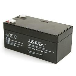 Аккумулятор свинцовый Robiton VRLA12-3.3/12в 3.3Аh 133x67x60мм