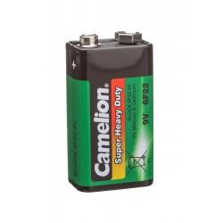 Батарейка 6F22(крона) CAMELION 1 шт./9В. солевая
