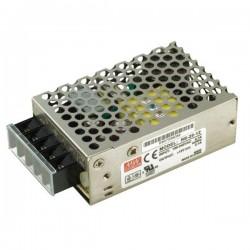 Блок питания в корпусе 12в,  2.1а, IP20, 78*51*28мм, Mean Well RS-25-12