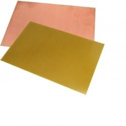 Текстолит односторонний 100х100х1.5мм/FR4