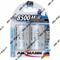 Аккумулятор Ni-MH D ANSMANN maxE 8500mAh/1.2в, низкий саморазряд