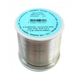 Припой CHEMET (415/TK-3) 2мм флюс Kap-T (250гр)/Sn97Cu3, 227-310°C