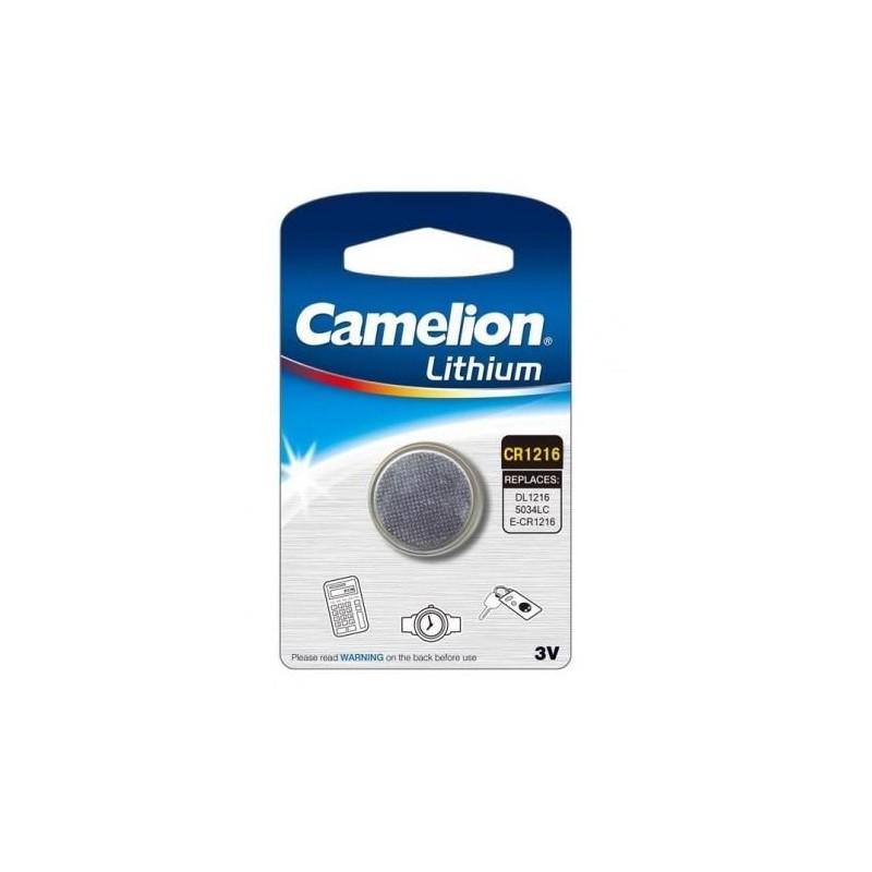 Элемент питания CR1216 Camelion 3в