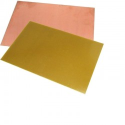 Текстолит односторонний 85х245х1.5мм/FR4