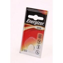 Батарейка CR1216 ENERGIZER 1 шт./3В. литиевая