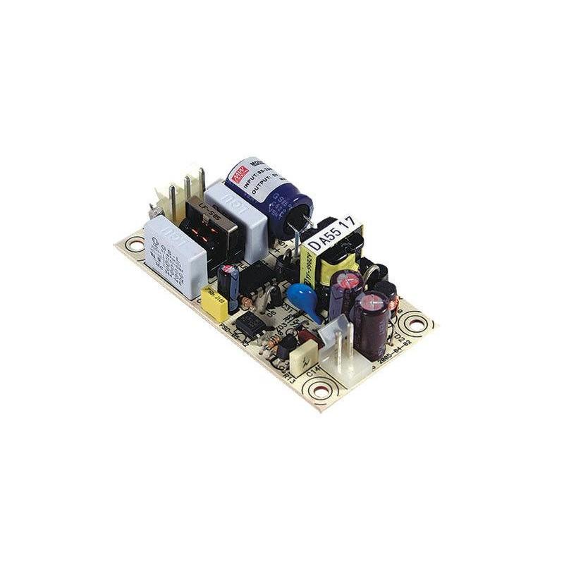 Блок питания Mean Well PS-05-5 5в, 1.2А, 75x40x20мм, бескорпусной