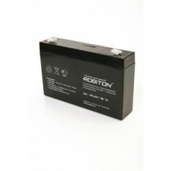 Аккумулятор свинцовый Robiton VRLA6-7.0/6в 7Ah