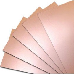 Текстолит двухсторонний 135х223х1.5мм/FR4