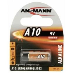 Батарейка 10A ANSMANN 1 шт./9В. щелочная