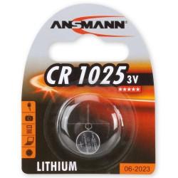 Батарейка CR1225 ANSMANN 1 шт./3В. литиевая