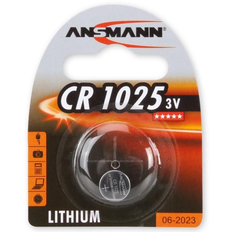 Элемент питания CR1225 ANSMANN 3в