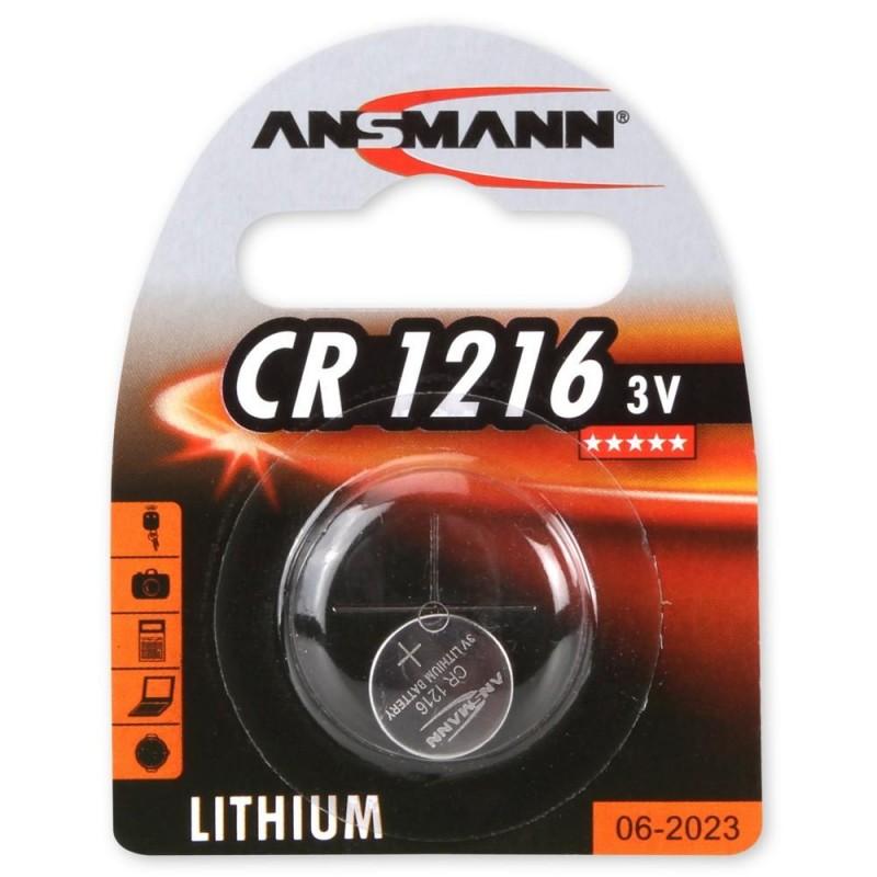 Элемент питания CR1216 ANSMANN 3в