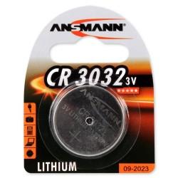 Элемент питания CR3032 ANSMANN/3в