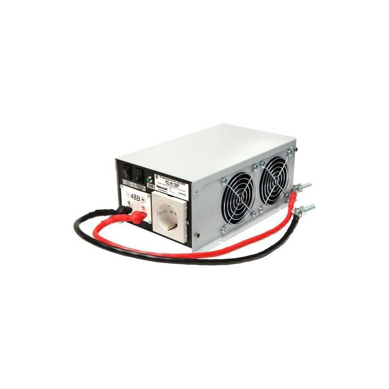 Преобразователь 48в-220в 1500вт ИС-48-1500 чистый синус, защита от КЗ, перегрузки, -40..+40°C