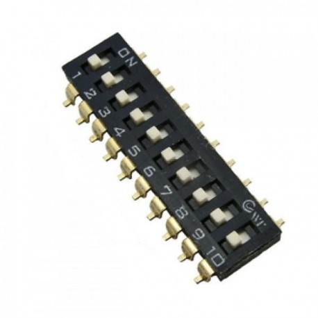 Переключатель SWD 4-10/DMD, 2.54мм