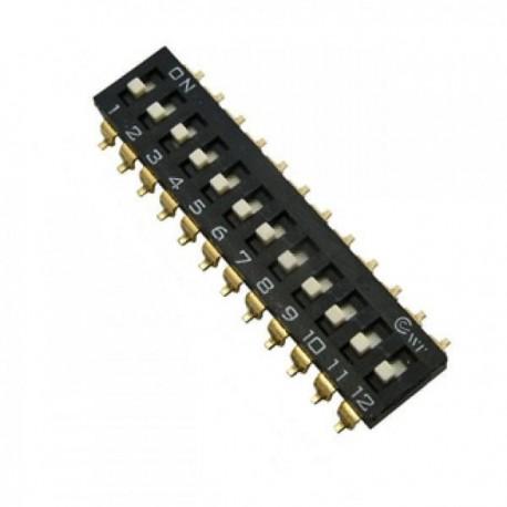 Переключатель SWD 4-12/DMD, 2.54мм