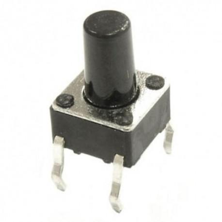 Кнопка тактовая 6x6x9мм 4 конт.