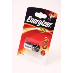 Батарейка CR123 ENERGIZER 1 шт./3В. литиевая