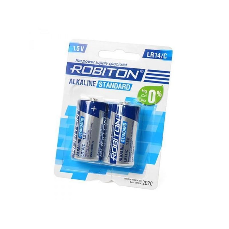 Элемент питания LR14 ROBITON STANDARD 1.5в