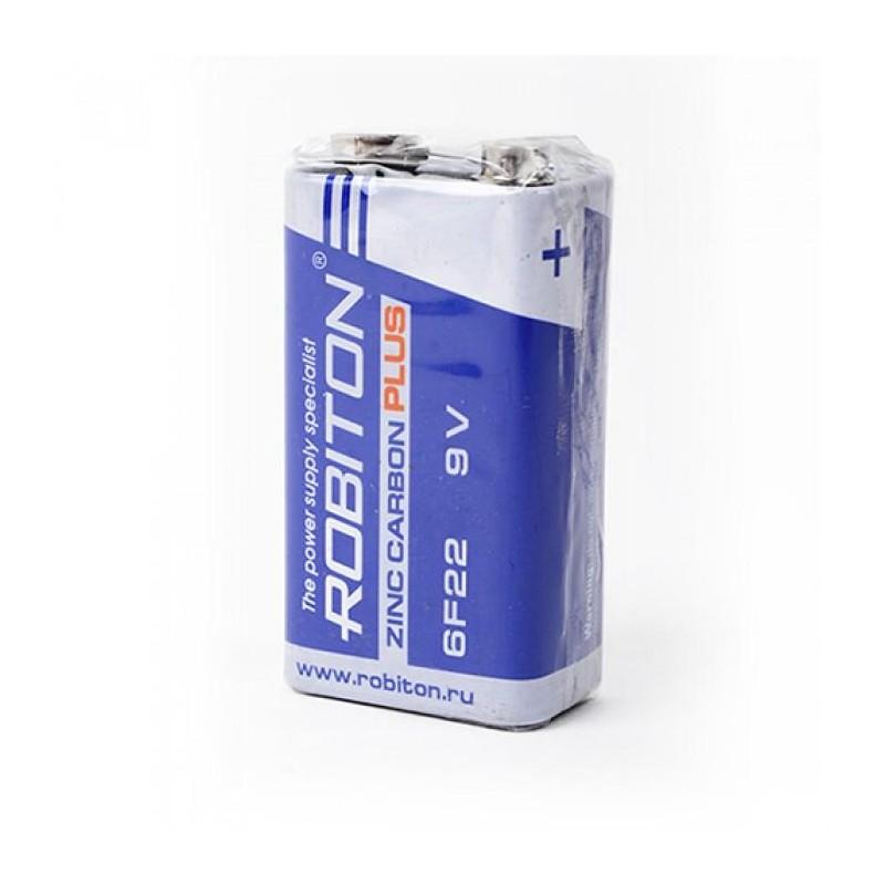 Элемент питания 6F22 ROBITON PLUS